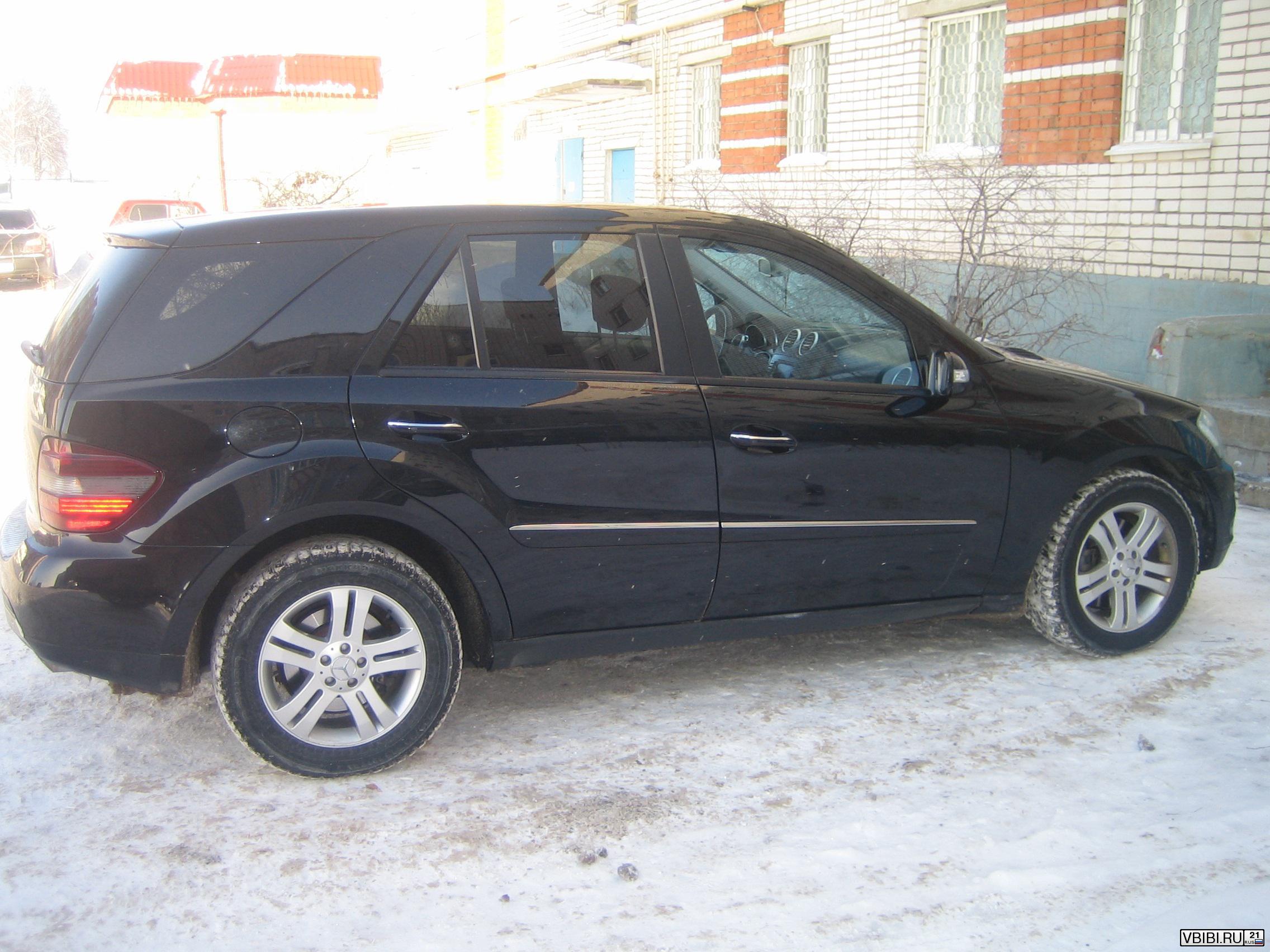 Mercedes-Benz ML (W164) 2005