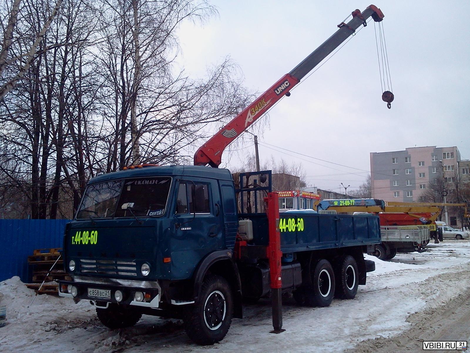 Манипулятор КамАЗ 53212 кран-манипулятор