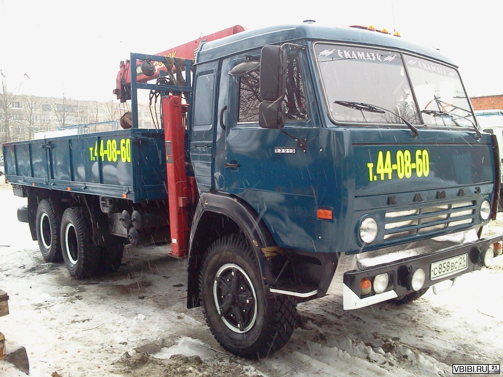 Манипулятор КамАЗ 53212 кран-манипулятор 1983