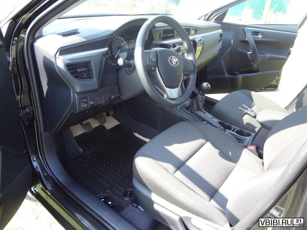 Toyota Corolla комфорт 2013