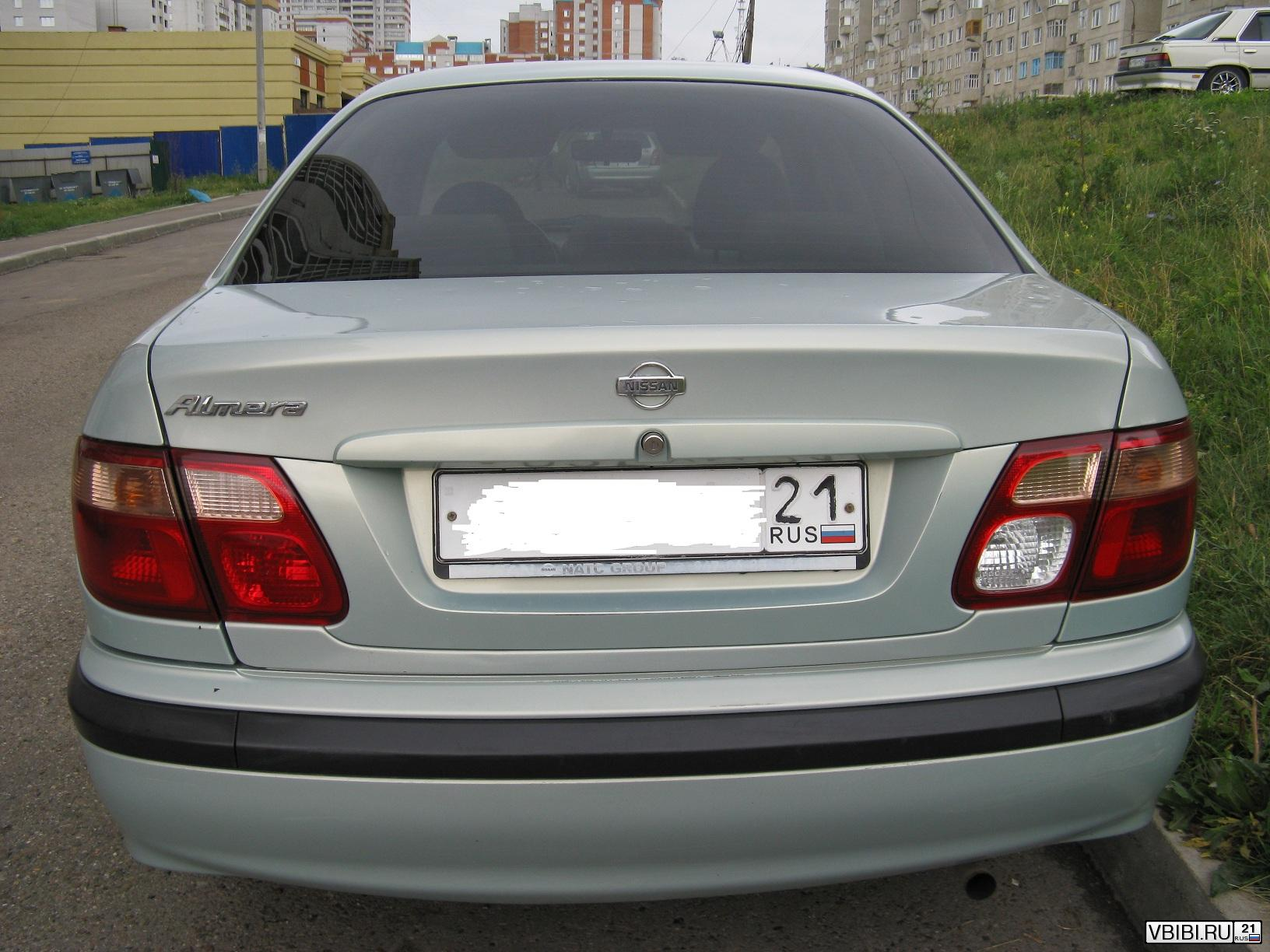 Nissan Almera полная 2002