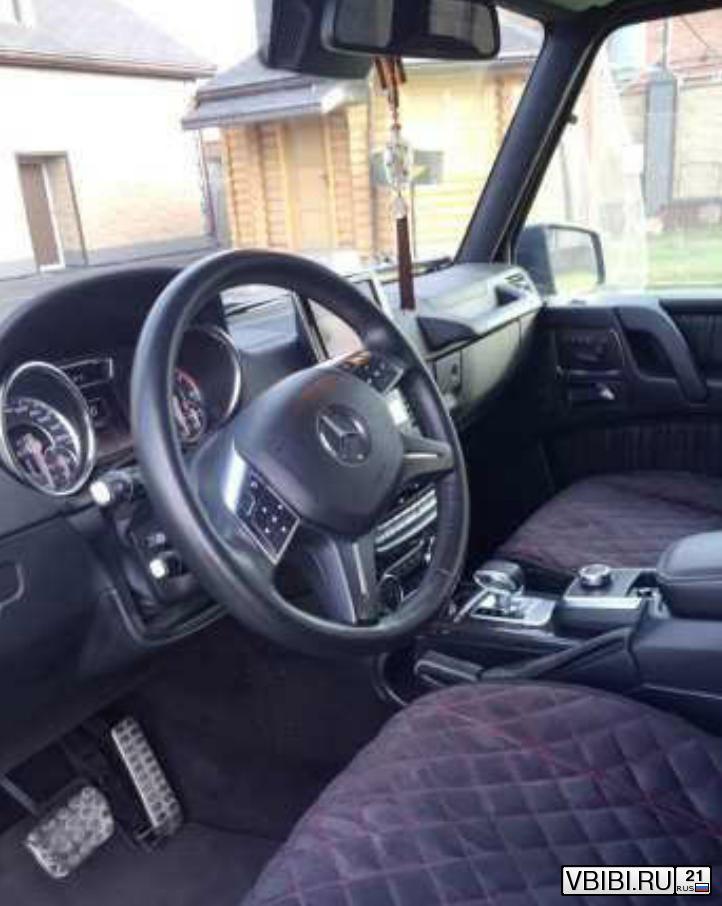 Mercedes-Benz G-Класс 63 AMG 2014